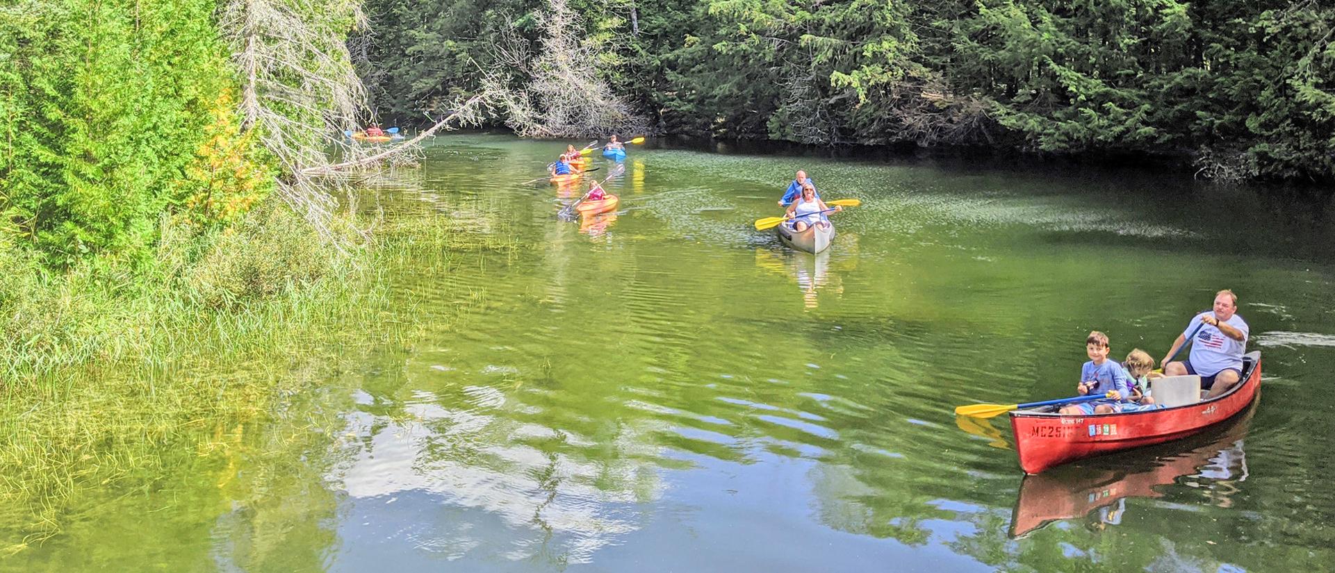 Big Cedar Campground Upper Peninsula Attractions
