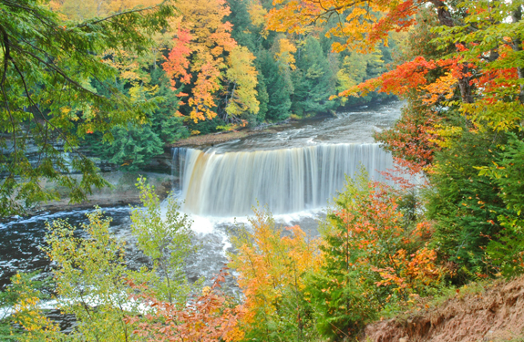 Upper Tahquamenon Falls near Germfask, MI